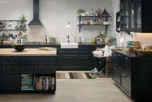 Building - Kitchen - black