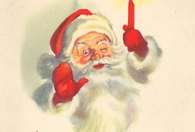 SANTA / Everyone loves Santa. Except terrorists. Don't be a terrorist.  / by Meredith Wright