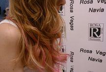 Color-Rosa Vegas / Imágenes de los colores de tendencia trabajados por nuestras manos.