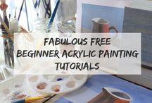 Tekenen, schilderen