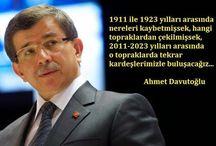 Başbakan Sayın Ahmet Davutoğlu / Başbakan Sayın Prof.Dr. Ahmet Davutoğlu