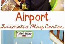 airport tot school