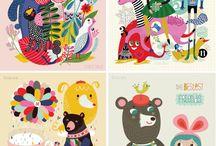 Ilustrácie a plagáty