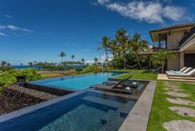 Featured Property- Mauna Lani Villa / What does your ideal Hawaiian paradise look like?  Enjoy this newly constructed luxury estate, located just above the beach at Mauna Lani Resort on the Big Island! This stunning vacation rental provides an open-like French design and features a total of five spacious bedrooms that can accommodate up to eleven guests. Get ready to be awestruck by the gorgeous Hawaiian sunsets and mountain views from the massive second floor lanai! This solar powered home has it all! http://bit.ly/MaunaLaniVilla