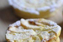 gâteau  simple  au fromage blanc   et fruit de saison