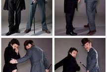 *Sherlock Holmes* (Ritchie adaptations.)  / by Harley Jane