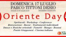 Oriente Day 17 Luglio Desio (MB) Parco Tittoni
