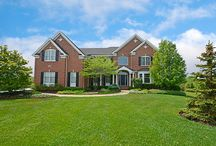 SOLD - 15 Twin Eagles Ct. - Hawthorn Woods, IL. 60047 / Truly AMAZING Colonial beauty with endless golf course views in sought-after HWCC! Come home to a terrific floor plan featuring 2-story foyer, study, laundry & powder room & more! Custom finishes include bay windows, crown moldings, Roman columns & elegant tray ceiling in dining room. Full walkout basement has great potential & access to patio. Extensive professional landscaping & serene views from large deck or stone patio with fire pit make this a DREAM home.