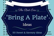 """50 """"Bring A Plate"""" Ideas"""