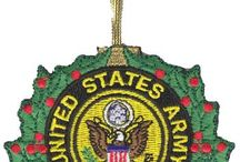 Military Christmas / Christmas Decorations, Ideas, Stockings and Ornaments for the military friends, family and loved ones. --  Christmas Designs, Decorations, Ideas