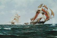 marine paintings