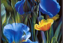 flower painting vie dunn-harr