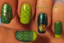 St. Patrick's day nails / by Kim McChesney