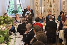 A F T E N P O S T E N S  JOURNALIST INVITED TO FIRST DINNER AT THE PALACE. IT ENDED WITH A CRISIS.