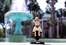 Adventures of John B. Bobblehead / #HatterChallenge returns, with a special appearance by John B. Bobblehead. He's set out to see where your gifts change lives at Stetson University. Look for his videos starting June 1.  / by Stetson University