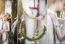 Ślub boho - Boho wedding / Fotki pochodzą z stylizowanej sesji Boho