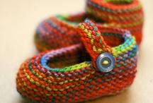 Knitting - Booties/Sandals/Mittens/Socks