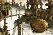 Illustration / Fantasy Steam Punk