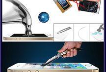 Protection d'écran en verre trempé / Photo d'une protection d'écran en verre trempé de dernière génération
