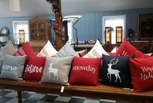 Saying It With Pillows / Decorative pillows with meaningful and inspirational sayings on them