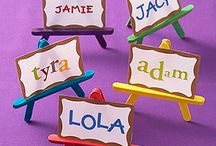 *name tags - school inspired