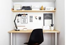 Home office ideas / Home office ideas with a minimalistic approach to design.