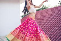 Indian bridal / Bridal look hilarious always in indian bridal wear