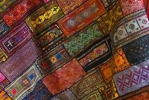 Beautiful Blankets and Quilts / Patchwork, crochet, recycled materials.. blankets, quilts, bedspreads, curtains, cushions..