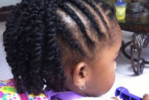 Natural hairstyles for lil'girls