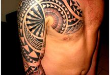 Polynesian and Maori tattoo