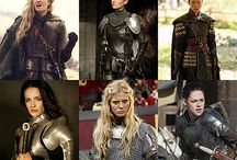 Medieval Dresses/armors/hairs/clothes
