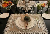 mesa decoración