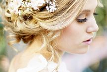 Wedding - Bridal Party Hair and Makeup / Ideas for Hair and Makeup on your Wedding Day
