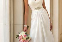 Bruid jurk huwelijk
