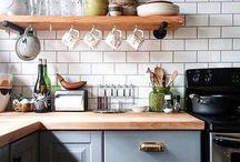 Kjøkkenfliser på hytta