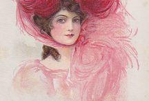 Vintage fashion / Victorian portraits and dress