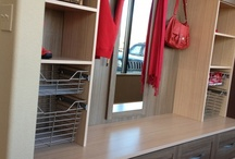 Laundry or Mud Room Ideas / A well organized space can turn annoying chores into light and pleasant work.  Custom storage solutions for your utility areas make it easy to breeze through housework. / by California Closets Denver