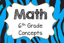 Math: 6th Grade Concepts / Advanced 5th grade math/6th grade math