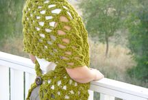 Crochet, knitting - shawls
