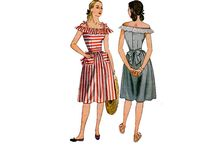 1940s 'Dirndl' Skirts