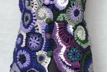 Freedom crocheting