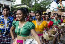Bonderam Festival / Conflicts and bloody duels between certain sections of society gave birth to a festival of peace and harmony. Bonderam, celebrated on the fourth Saturday of August every year in the picturesque island of Divar is a must visit carnival during monsoon in Goa.