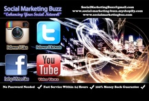 Social Network Marketing / Want more Followers on Twitter or Instagram? How about Youtube views, Instagram and Facebook Likes? We provide it all. Visit www.Social-Marketing-Buzz.myshopify.com to gain more exposure to your social network for the cheapest prices and fastest service!