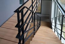 Lépcső és Korlát