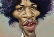 Fun Art / Caricatures of famous people