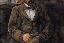 arte - Paul Cezanne (1839-1906) / arte - pittore francese