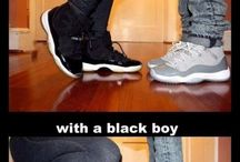 First dates with a white boy, with a Black boy - 1ers rendez-vous avec un blanc, avec un Black