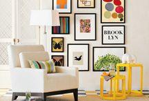 obrazy v bytě