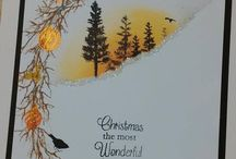 one layer christmas cards