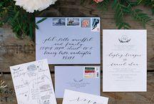 Svatební oznámení / Stationary